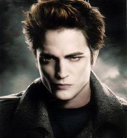 Edward, versión Photoshop. Mucho más temible que Edward de carne y hueso, claro.