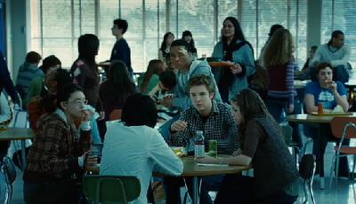 Los estudiantes de la Preparatoria Forks: del montón.