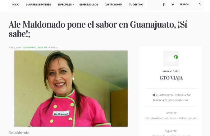 FUN FACT: Ale fue juez en un concurso de cocina donde uno de los invitados fue el chef Herrera.