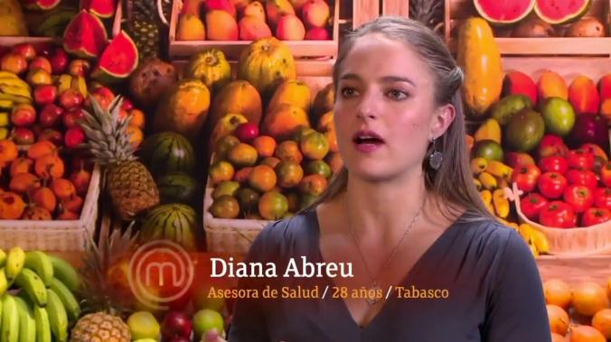 Diana: mala cocinera, peor actitud.