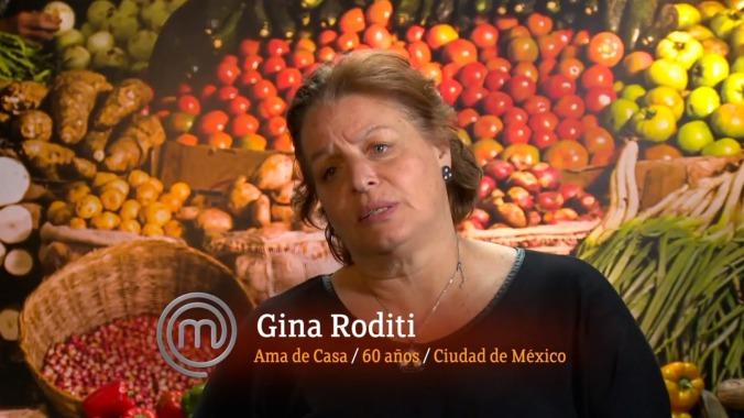 La seño Gina: buenaondez pura.