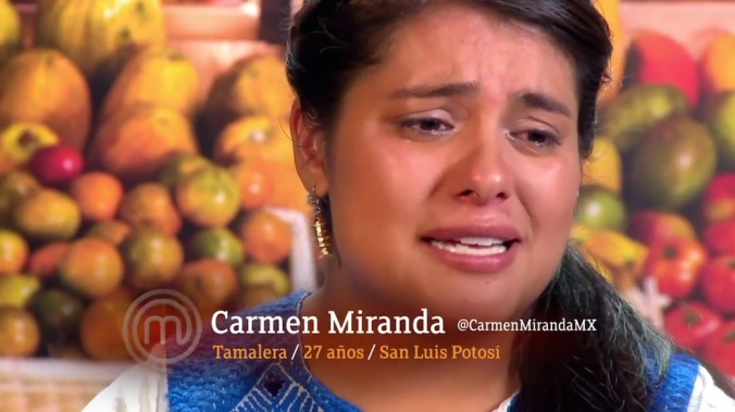 Carmen es tan mexicana que llora aguamiel.