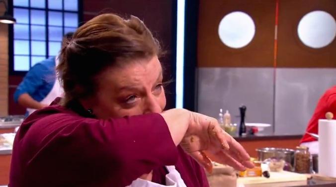 – ¿Llora por el chile, seño Gina? – No, lloro por la nariz…