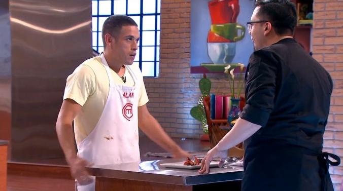 """""""¿Entonces NUNCA habías pisado una cocina hasta el día de hoy, Alan? ¡Impresionante!"""""""