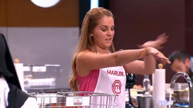 """Además el """"chef"""" Herrera le pegó las chinches a Marlene."""
